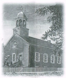Church with cupola 1860